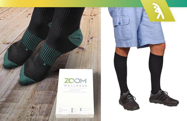 Chaussettes de compression CopperZen: revue de la recherche 2020