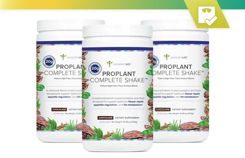 Examen de la recherche sur Gundry MD ProPlant Complete Shake