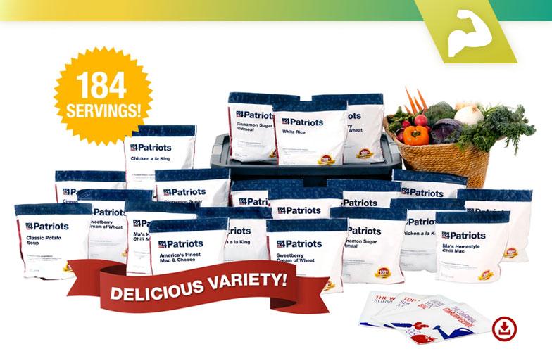 Examen de la recherche sur le kit alimentaire de survie Food4Patriots de 72 heures