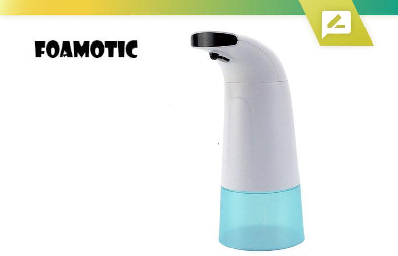 Examen du distributeur automatique de savon en mousse