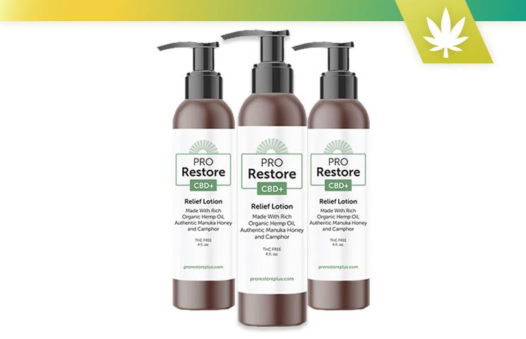 Pro Restore CBD + Lotion de soulagement: recherche de revue de produit 2020
