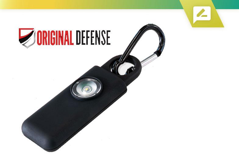 Sirène d'auto-défense d'origine: dispositif d'alarme de sécurité personnelle