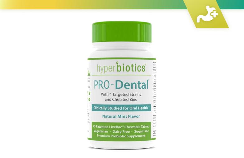 Soutien probiotique pour la santé bucco-dentaire