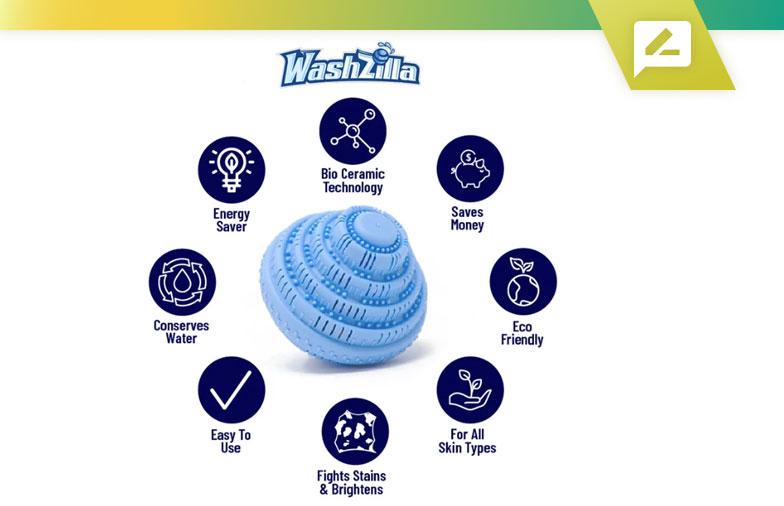 WashZilla Laundry Ball: examen de la recherche 2020